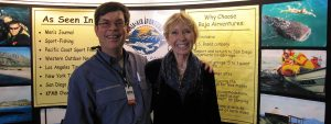 Travel Tradeshow marketng: Tourism Tim with Sandy Dhuyvetter