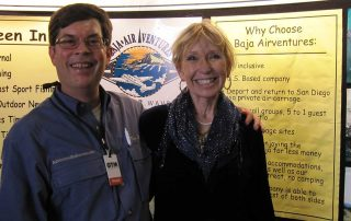 Travel Tradeshow marketing: Tourism Tim with Sandy Dhuyvetter