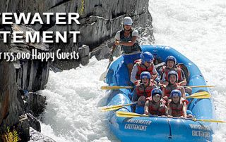 tourism marketing case study on Whitewater Excitement